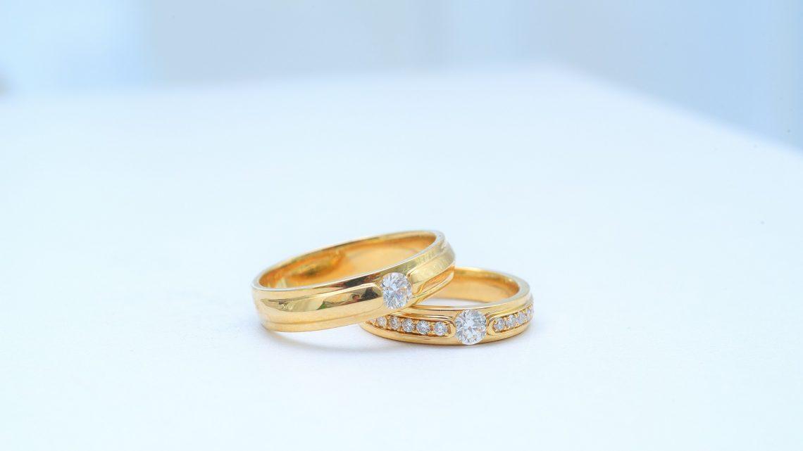 Alliances de mariage : avec ou sans diamant